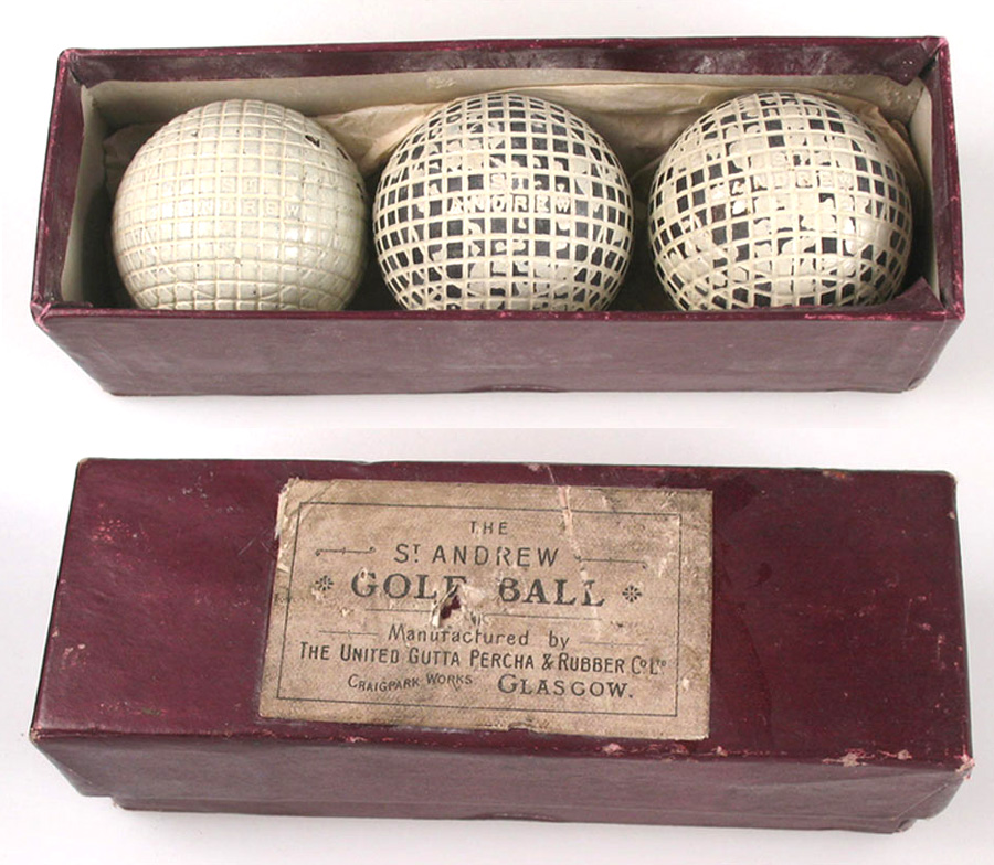 Gutta Percha golf balls